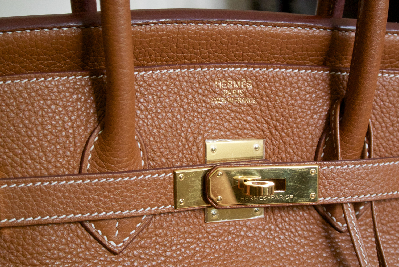 05ebb4e53dcb Hermès Birkin 35 Clemence — The Shoulder Strap