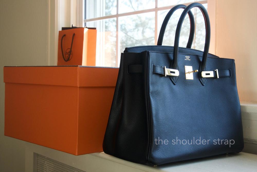 0042d14b07b7 Hermès Birkin 35 Vache Liegee — The Shoulder Strap