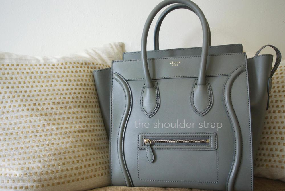 536283c76fae Though I have seen both barely-used and well-loved Céline luggage totes on  online consignment stores