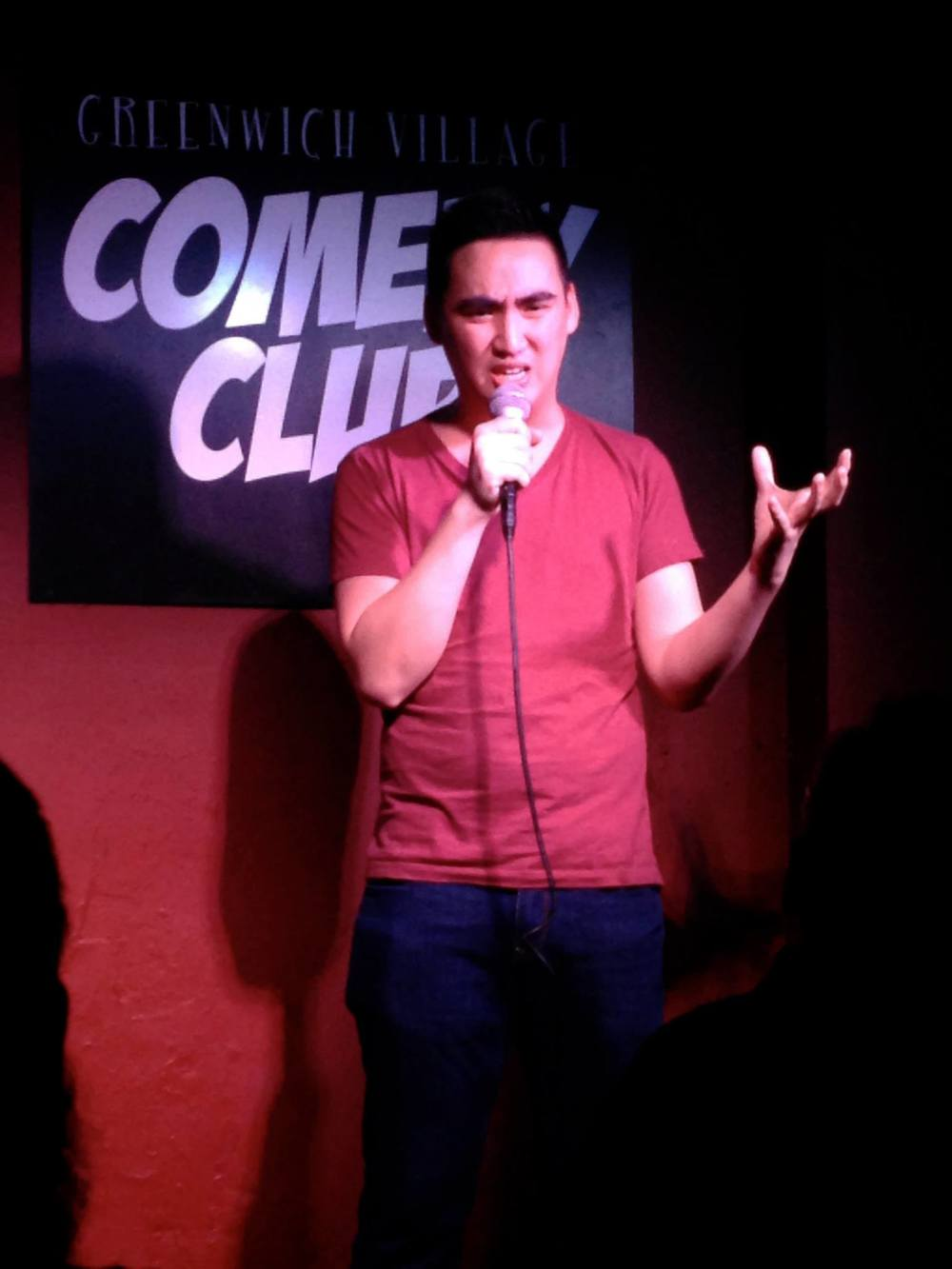 NYC debut at the Broadway Comedy Club
