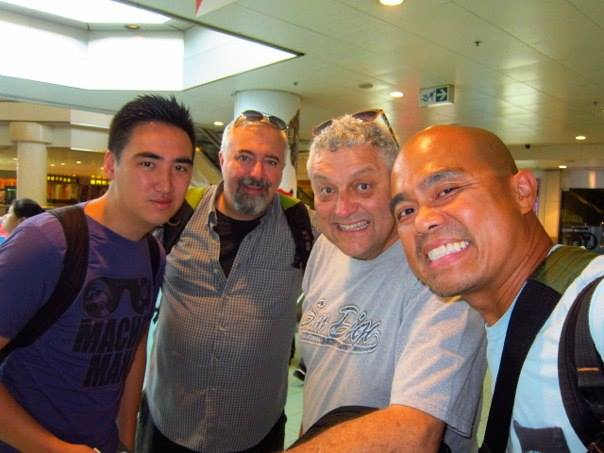 Macau show with the father of South African Comedy, Barry Hilton.