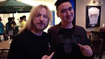 Opening for the hilarious Steve McGrew at the Venetian, Macau