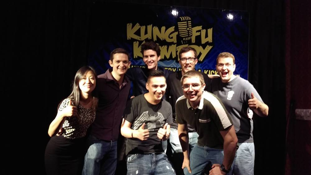 Suzou debut with the Kung Fu Komedy crew!