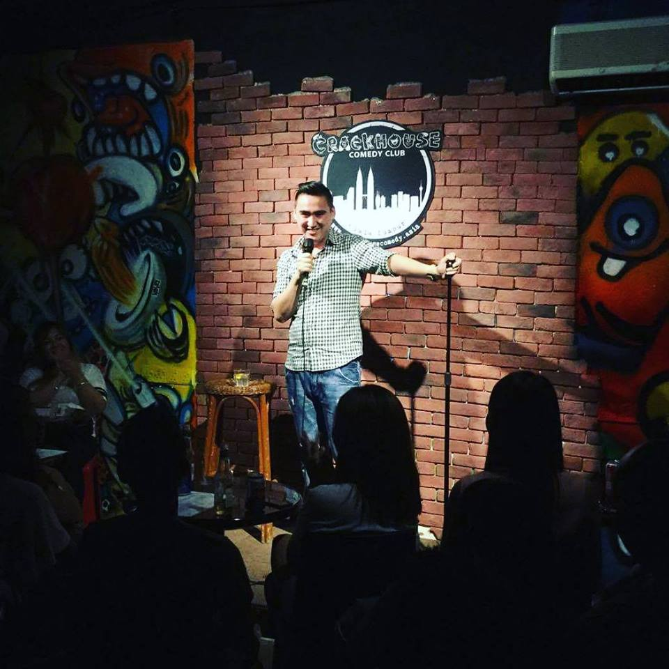 Headlining for the first time outside of Hong Kong at KL's Crackhouse Comedy Club!