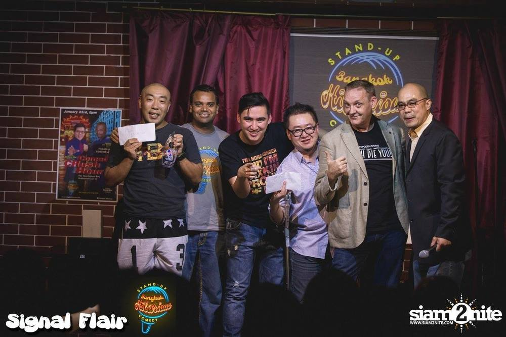 First Innagural Bangkok International Comedy Competition. 2nd place!