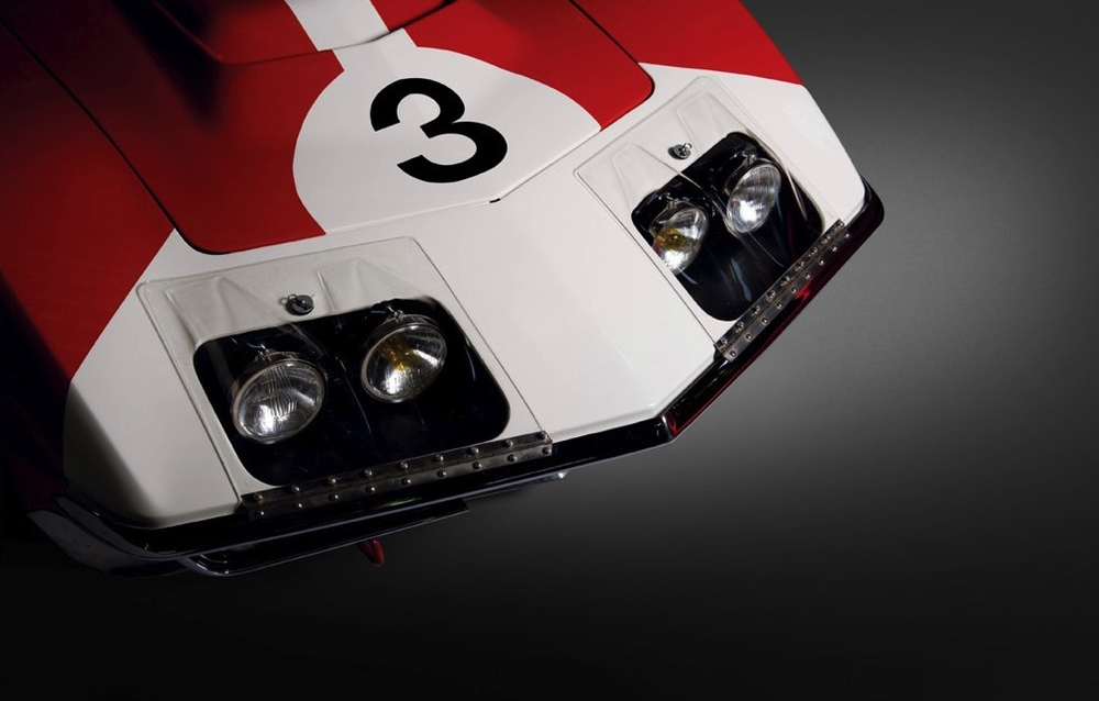 VINTAGE C3 FIA HEADLIGHTS