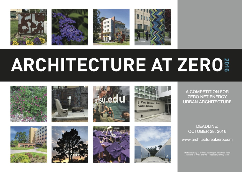 Image from Architecture at Zero 2016 /  www.architectureatzero.com