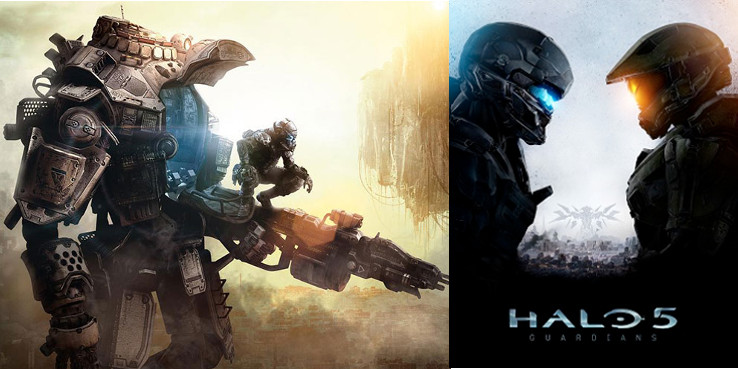 TITANFALL, An Early XBOX ONE Success, Sold more consoles than the more recent Halo 5: Guardians, which comes from Microsoft's Flagship Halo franchise  .  IMAGE CREDIT: MICROSOFT