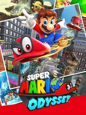 2. Super Mario Odyssey