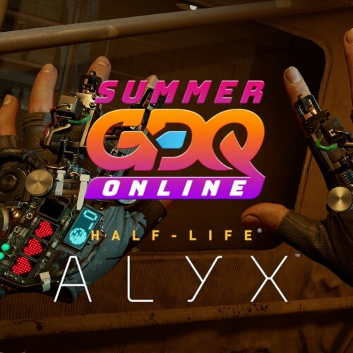 Half-Life: Alyx Speedrun Debuted as First VR Game Ever Played During Games Done Quick Stream
