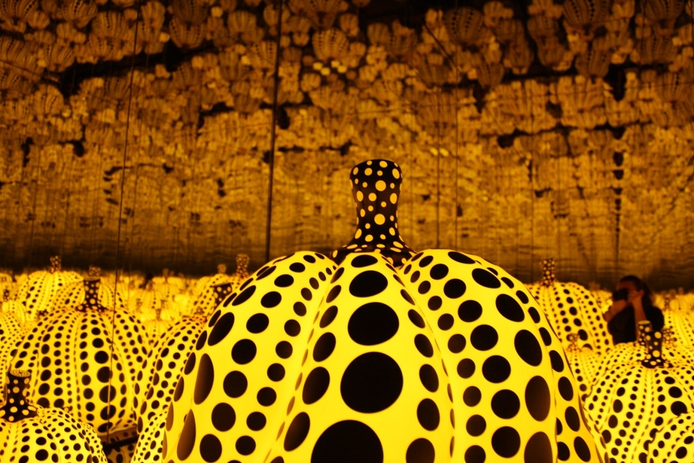 All the Eternal Love I Have for the Pumpkins  by Yayoi Kusama