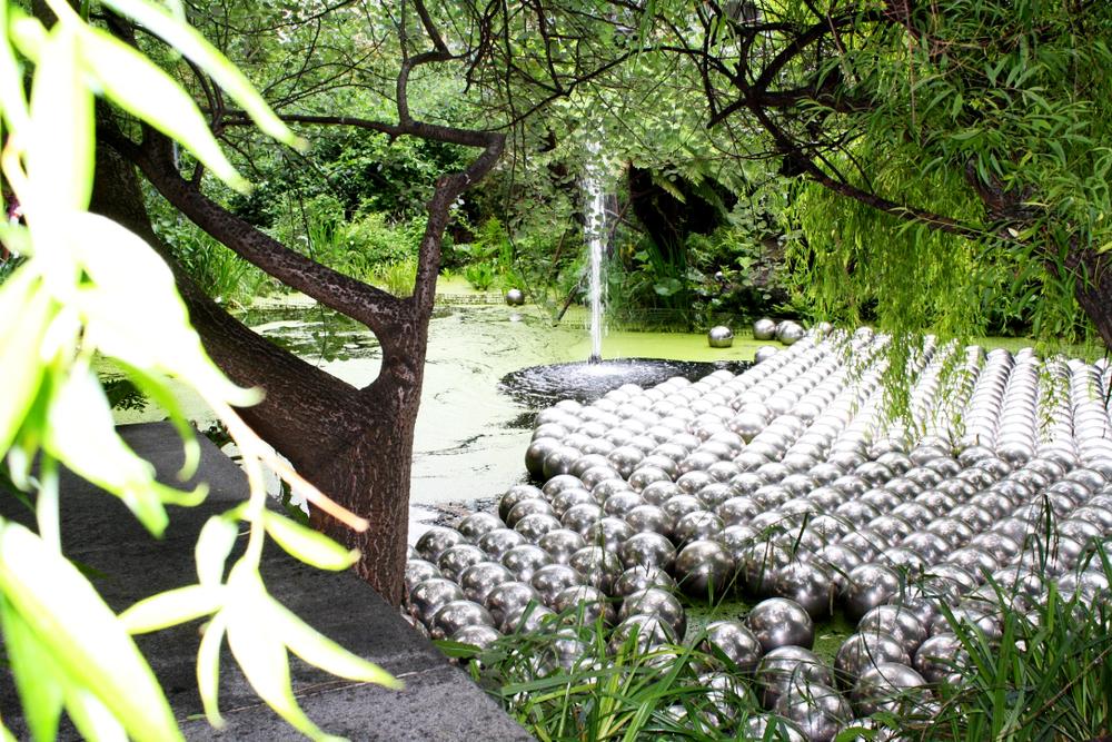 Narcissus Garden Go By Yayoi Kusama