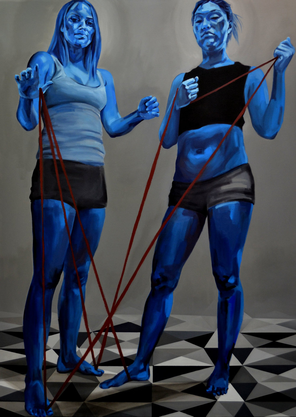 Blue Twins (detail) © Jennifer King