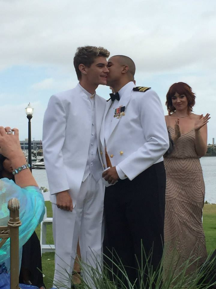 Joshua and Jonathan were married on September 1, 2015 at the Marine Corps Recruit Depot.