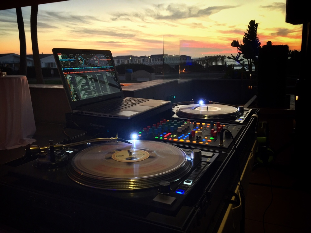 DJ Justin Kanoya provided live DJ service for Proven Recruting's 2015 Holiday Party at JRDN Restaurant.
