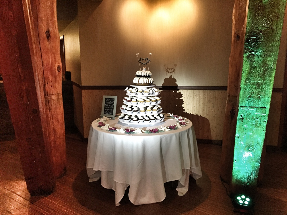 Wedding Cake Lighting