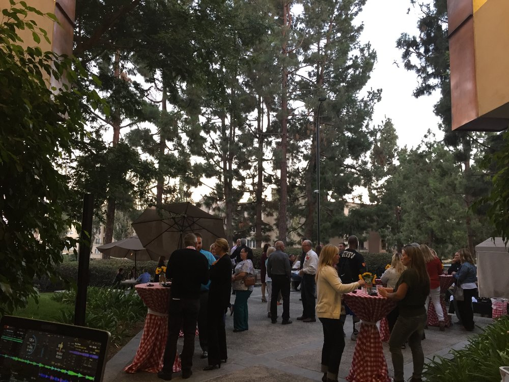 Employees and guests of Torrey Pines Periodontal & Implant Center celebrate their second anniversary.