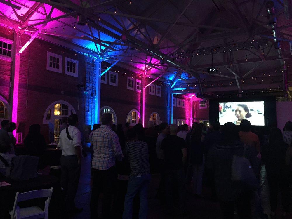 Brick Events Uplighting
