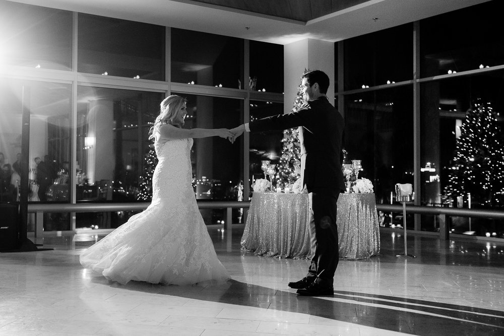 Shannon and Robert's first dance at their wedding, which took place at Vintana.