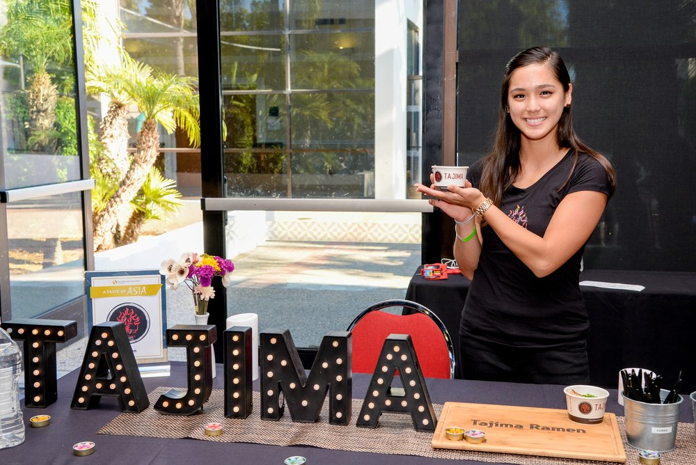 Tajima Ramen was just one of many restaurants at the Taste of Asia event on May 23, 2017.