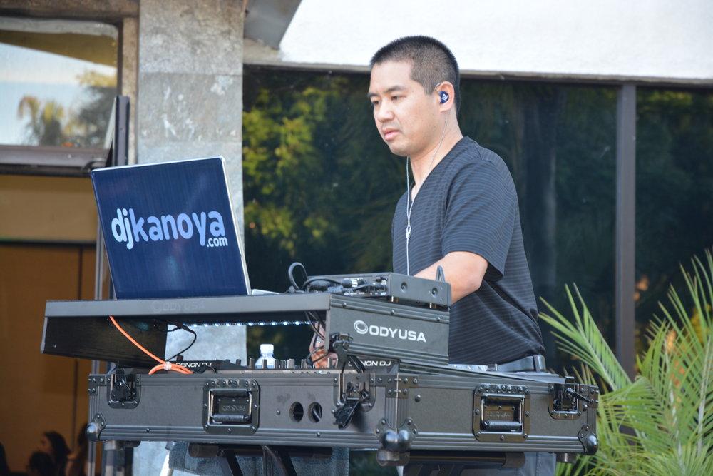 San Diego DJ Justin Kanoya