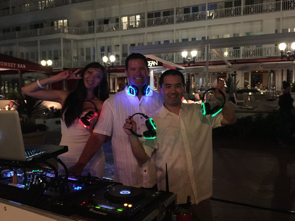 DJ Kanoya Silent Disco Event
