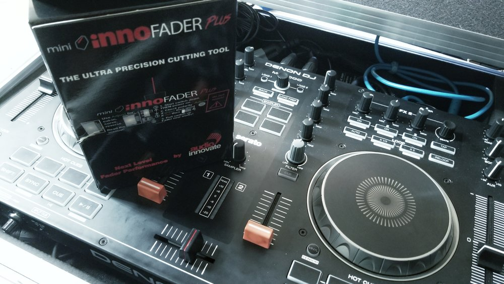 The Mini Innofader Plus is the perfect crossfader install into a Denon MC4000.