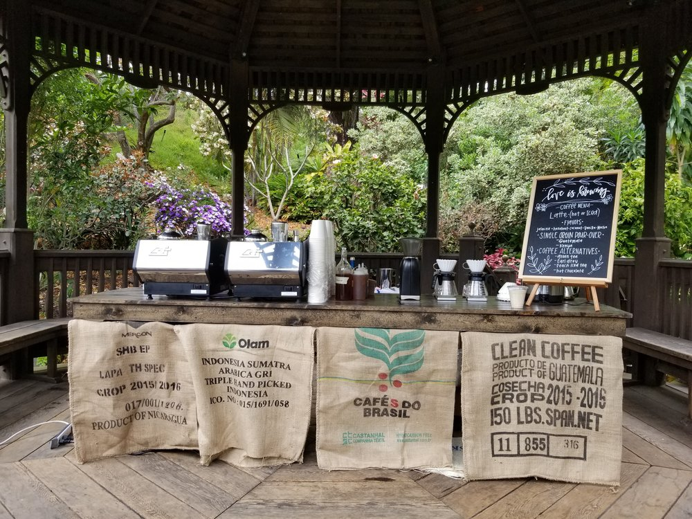 A highlight for me was the coffee bar Michelle and Cameron set-up at their wedding.