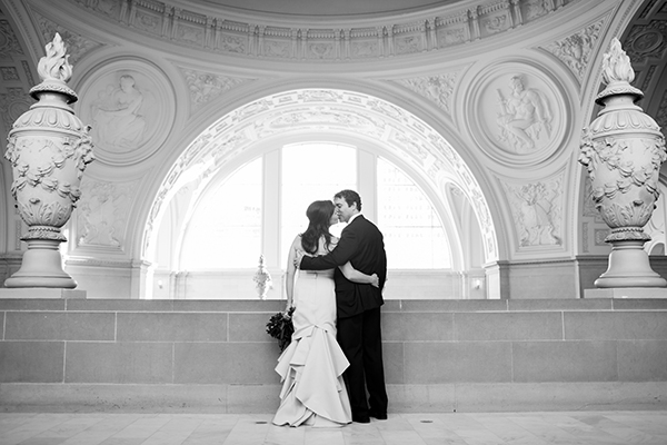 Hayley and Mark San Francisco City Hall Wedding