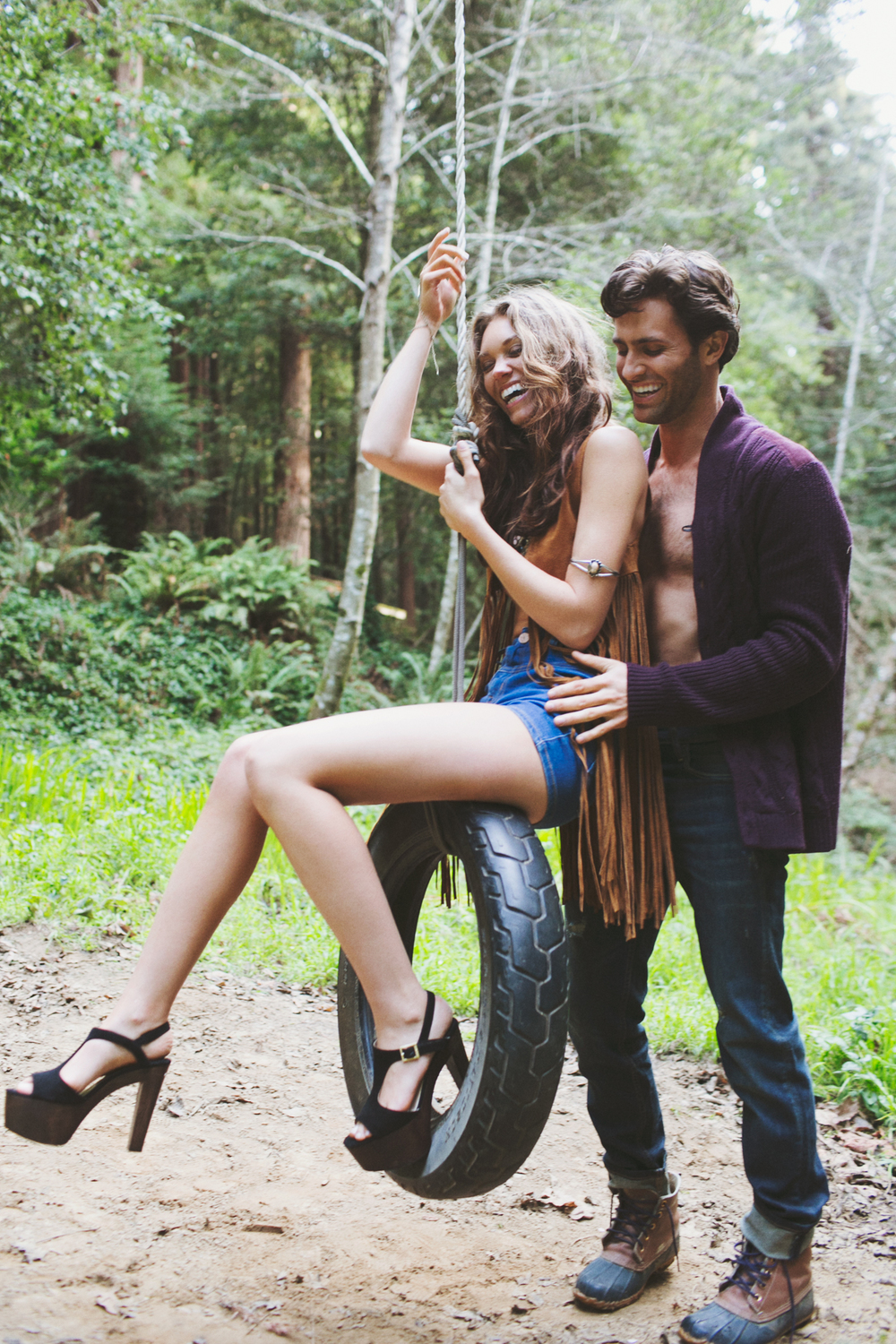 Fashion Photographer, Jennifer Skog's seductive & playful version of Cabin Fever.