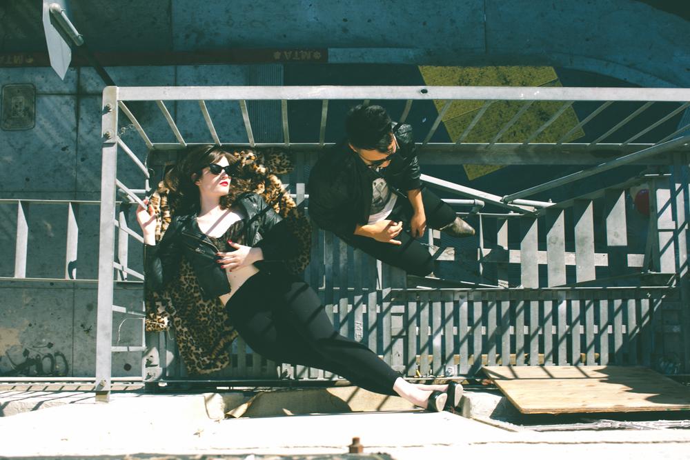 Music Fashion Photographer Jennifer Skog Photographs Indie Electronic Duo Cathedrals