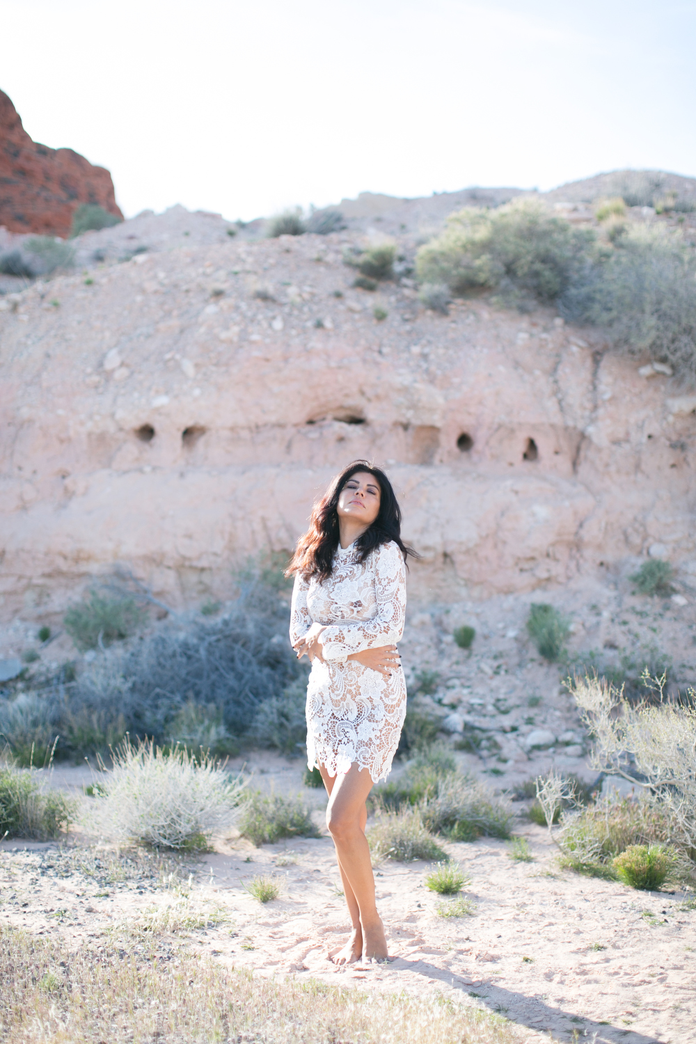 Jennifer Skog boudoir photographer nasty gal fashion styled desert