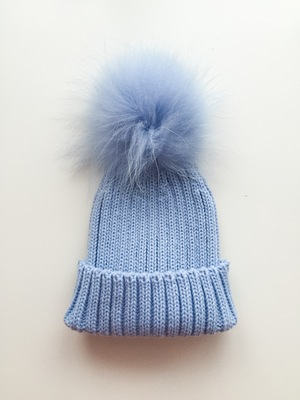 Single PomPom Hats — mylittlewears d66933856ee8