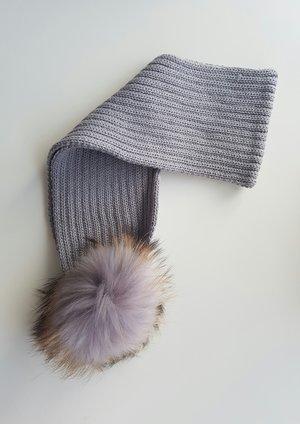 a2892bfd5cf Fluffy PomPom Scarfs — mylittlewears