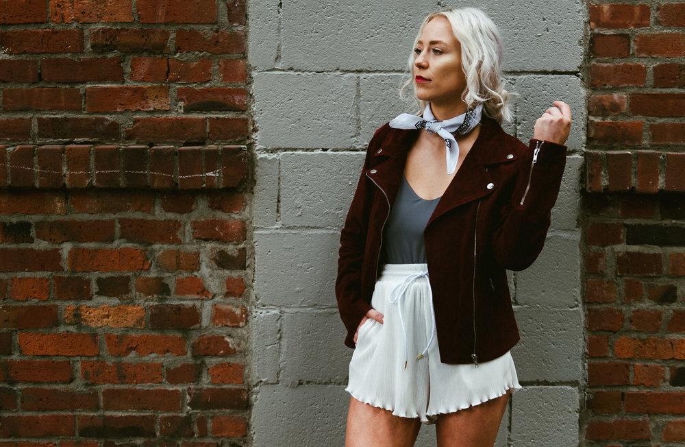 Model: Brittany Oake