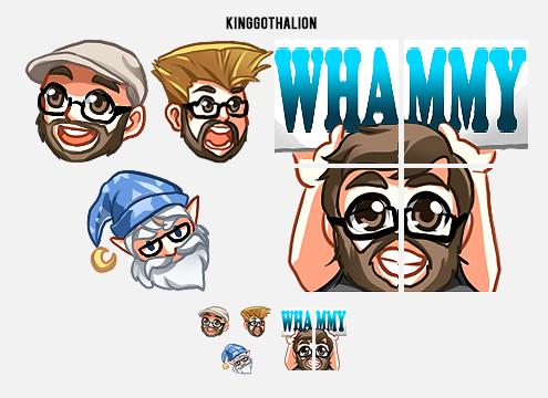 Twitch Emotes — uguu...