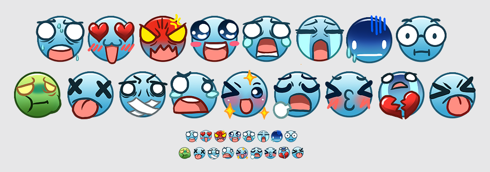 Azubu Default Emotes   Emotes for Azubu.TV 2015
