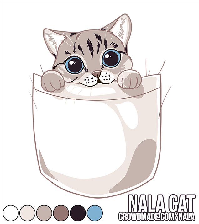 Nala Cat    T-Shirt Graphic 2015  Ted Fu | Crowdmade.com