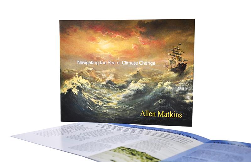 """<span class=""""av_client"""">Allen Matkins</span> Green brochure for law firm"""