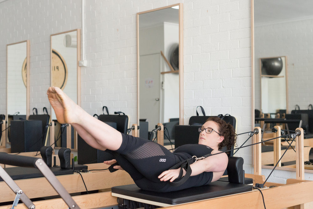 Reformer Abdominal Exercise, Pilates HQ