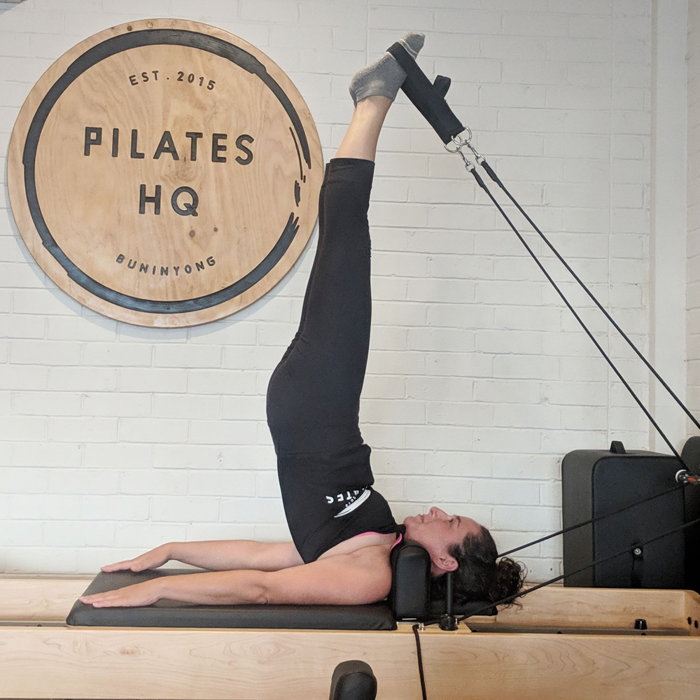 Reformer Pilates, Long Spine, Pilates Buninyong