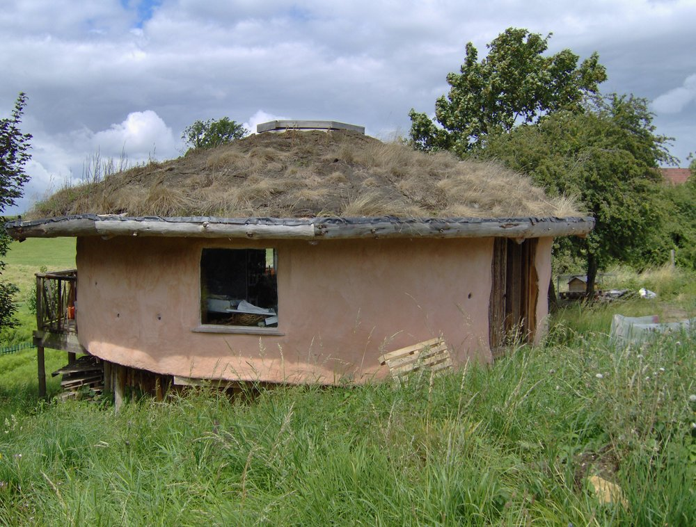 A roundhouse from one of the community organisations we support