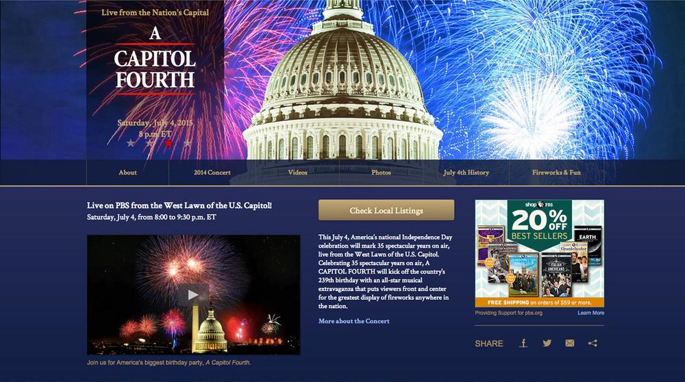 Capital Concerts –NMDC & ACF Websites