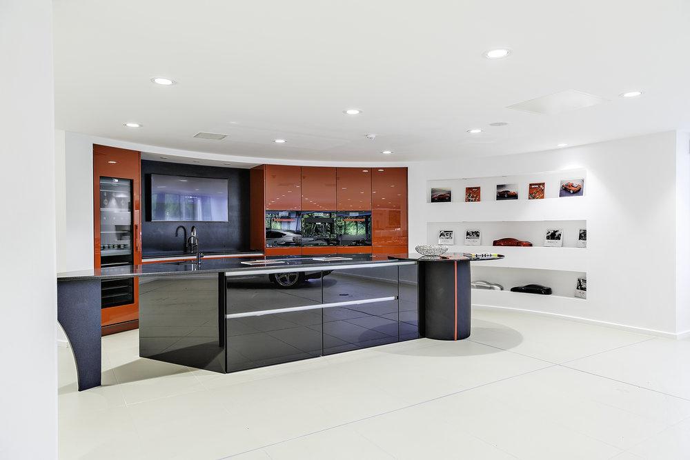 Stratstone Ferrari Wilmslow client kitchen