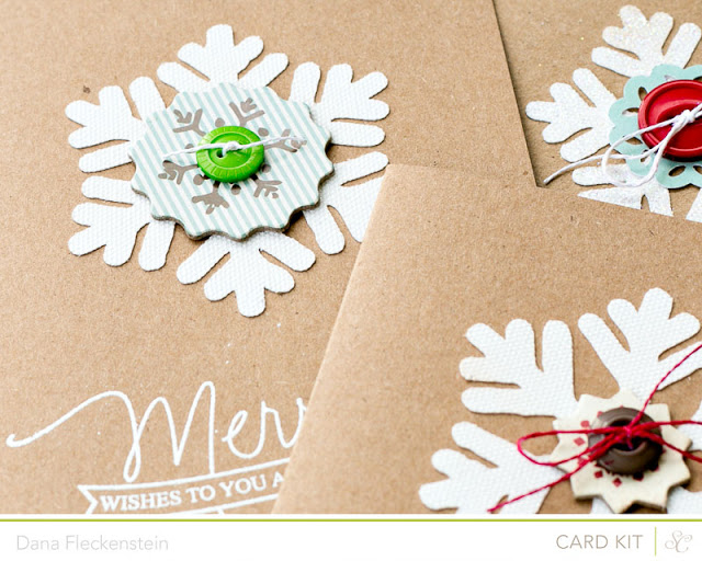Studio Calico Cuppa Kit Christmas card by @pixnglue - detail