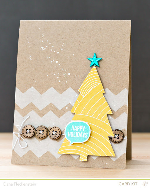 Studio Calico Cuppa Kit Christmas card by @pixnglue