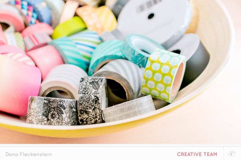 washi tape storage by @pixnglue