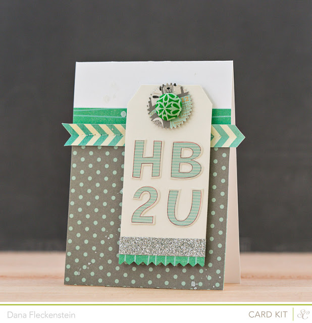 Handmade HB2U Card by @pixnglue using Studio Calico's Valley High Kits