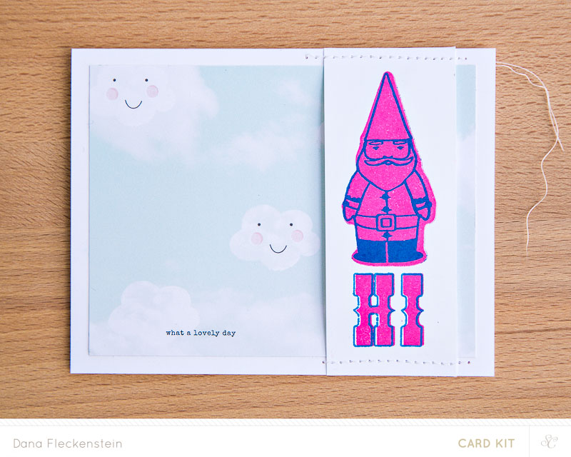 Studio Calico Penny Arcade kit card by @pixnglue