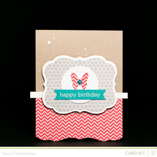 Card Kit only Birthday Card